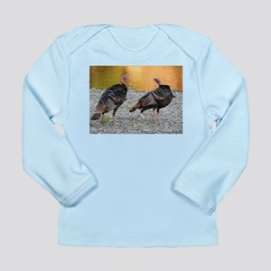 Turkeys Long Sleeve Infant T-Shirt