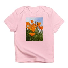 California Poppies Infant T-Shirt