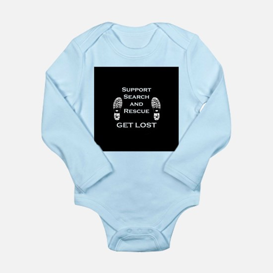 Support Search and Rescue Long Sleeve Infant Bodys