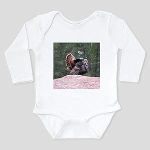 Turkey Gobblers Long Sleeve Infant Bodysuit