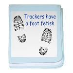Foot Fetish baby blanket