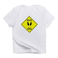 Buck Crossing Infant T-Shirt