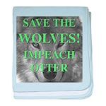 Help Idaho Wolves baby blanket