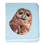 Northern Spotted Owl baby blanket
