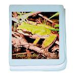 Pacific Treefrog baby blanket