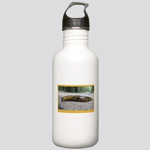 Banana Slug in Forest Stainless Water Bottle 1.0L