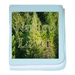 Nature Lover baby blanket