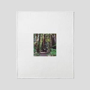 Redwood Trail Throw Blanket