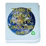 Not a Plastic Bag baby blanket