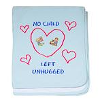 No Child Left Unhugged baby blanket