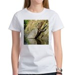 Pond Turtle Basking Women's T-Shirt