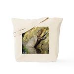 Pond Turtle Basking Tote Bag
