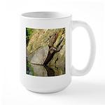 Pond Turtle Basking Large Mug