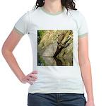 Pond Turtle Basking Jr. Ringer T-Shirt