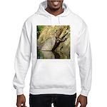 Pond Turtle Basking Hooded Sweatshirt