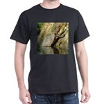 Pond Turtle Basking Dark T-Shirt