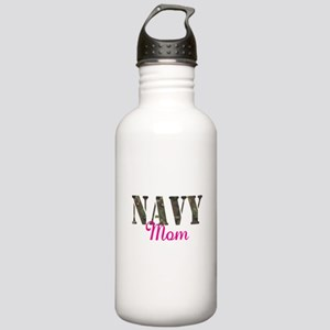 Navy Mom Stainless Water Bottle 1.0L