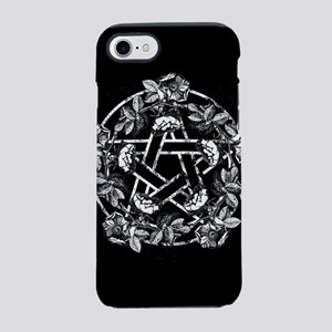 Pentacle With Roses iPhone 7 Tough Case