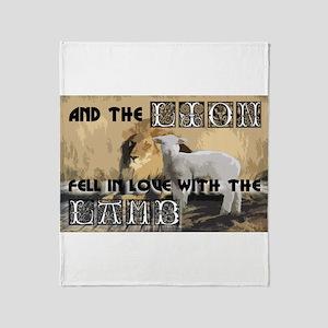 Twilight Movie Lion Lamb Throw Blanket