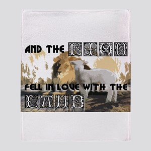 Twilight Movie Lion Lamb Throw Blanket