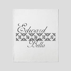 Edward Loves Bella Twilight Throw Blanket