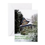 Snow House Greeting Cards (Pk of 20)