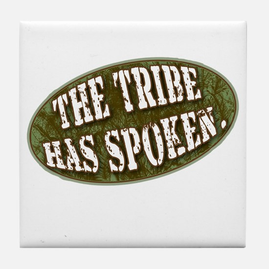 The Tribe Has Spoken Survivor Tile Coaster