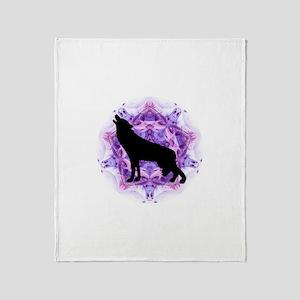 Wolf Throw Blanket