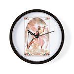 Healing Harp Wall Clock