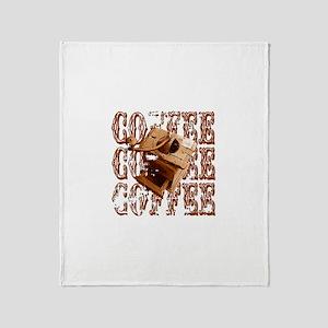 Coffee Grinder - Rich - Throw Blanket