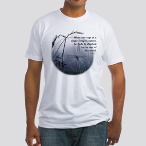 UU - Web of Life Fitted T-Shirt