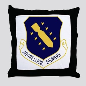 44th Bomb Wing Throw Pillow