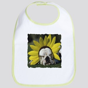 BULLDOG SUNFLOWER Bib
