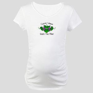 Carpe Vinum Maternity T-Shirt