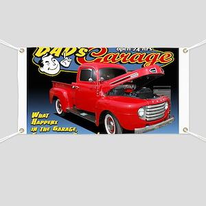 Dad's Garage Banner