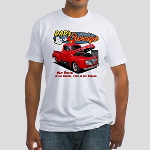Dad's Garage Fitted T-Shirt