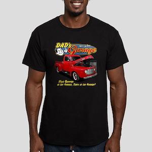 Dad's Garage Men's Fitted T-Shirt (dark)