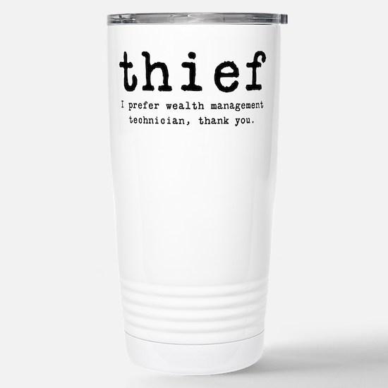 Thief Stainless Steel Travel Mug
