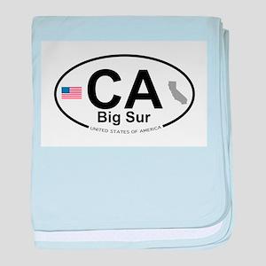 Big Sur baby blanket