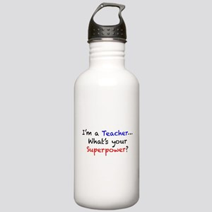 Teacher Superpower Stainless Water Bottle 1.0L