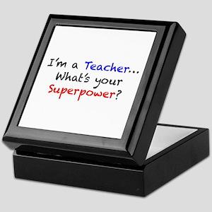 Teacher Superpower Keepsake Box