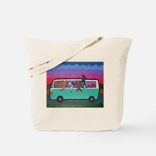 Go Greyhound Tote Bag