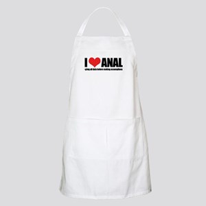 I Love Anal-yzing Apron
