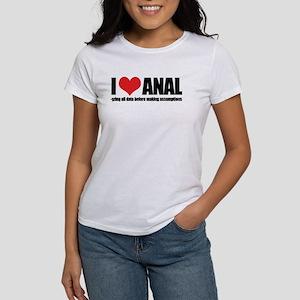 I Love Anal-yzing Women's T-Shirt