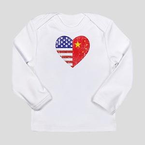 Family Heart Long Sleeve Infant T-Shirt