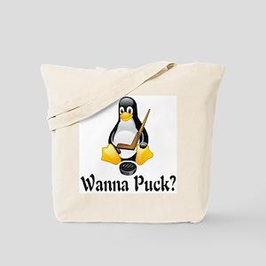 Wanna Puck? Tote Bag