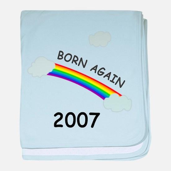 Born again 2007 baby blanket