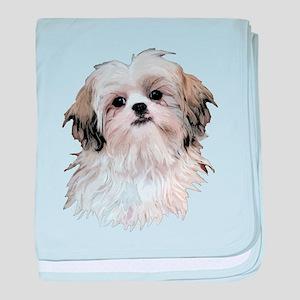 Shih Tzu Lover baby blanket