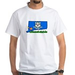 ILY Connecticut White T-Shirt