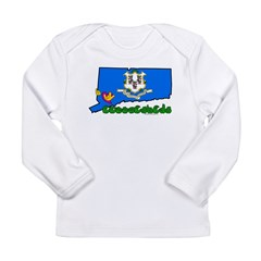ILY Connecticut Long Sleeve Infant T-Shirt